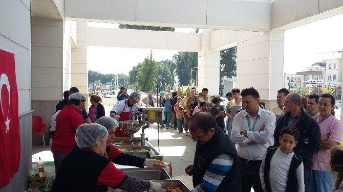 Nazilli Devlet Hastanesi'nde Lokma Hayrı