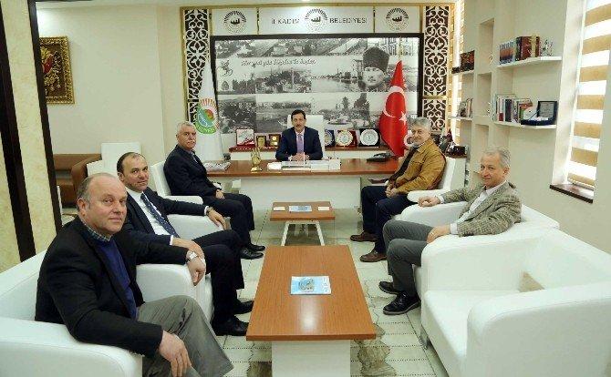 Samsunspor'dan Başkan Tok'a Teşekkür Ziyareti