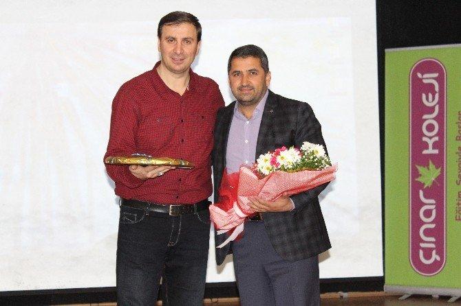 Eğitimci-yazar Efiloğlu, Velilerle Bir Araya Geldi