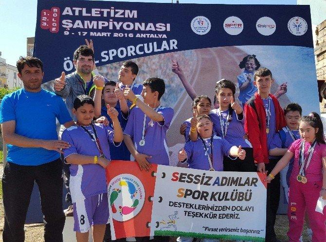 Sessiz Adımlar Spor Kulübü Madalyaları Süpürdü