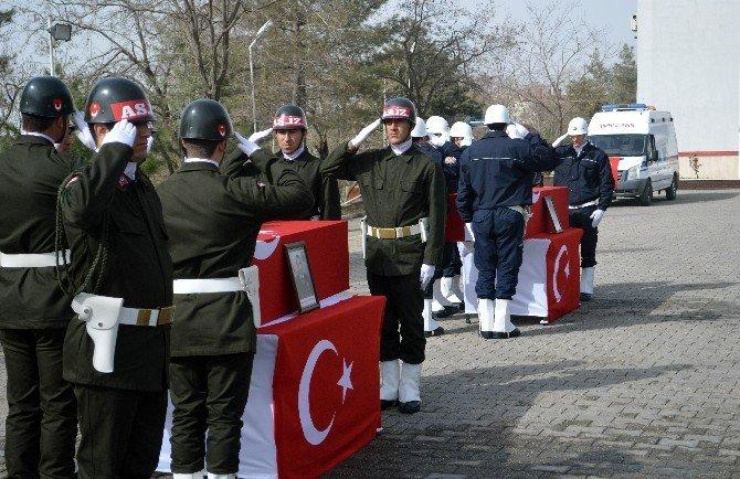 Şırnak Şehitleri İçin Tören Düzenlendi