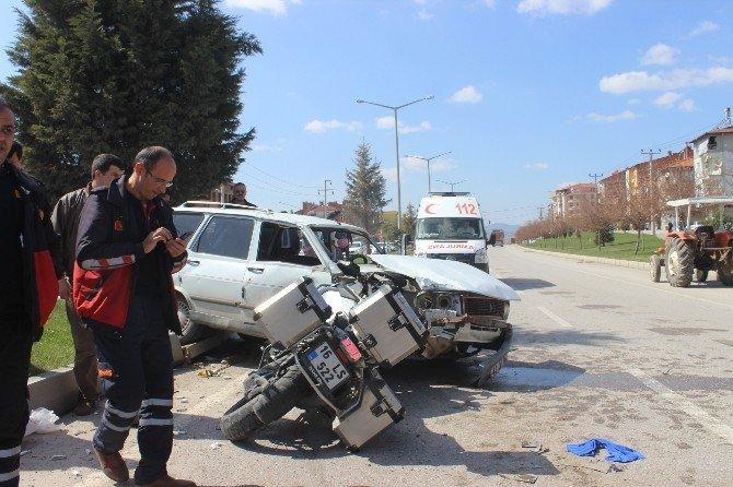 Tavşanlı'da Zincirleme Trafik Kazası: 6 Yaralı
