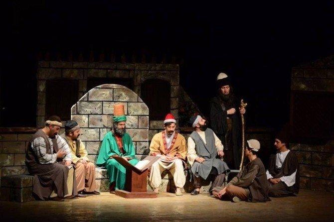 Ateş-i Aşkın Yolcuları Tokat'ta Sahnelendi
