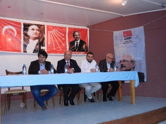 Dikili CHP İlçe Örgütü Danışma Kurulu Toplantısını Yaptı