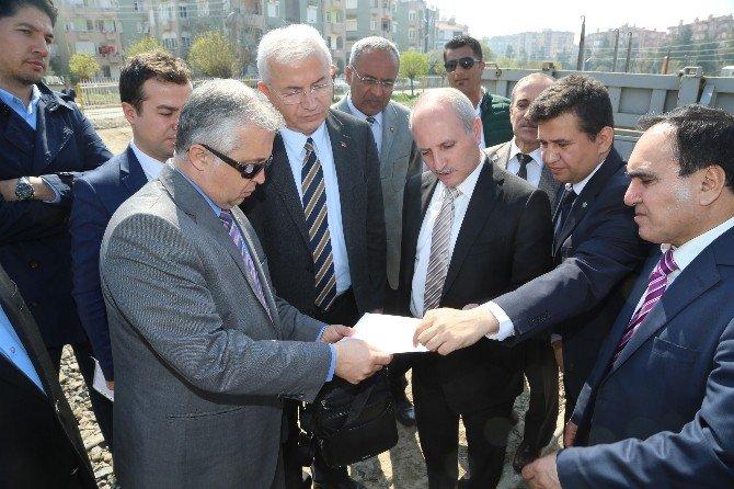 Torbalı'dan Bakan Binali Yıldırım'a Teşekkür