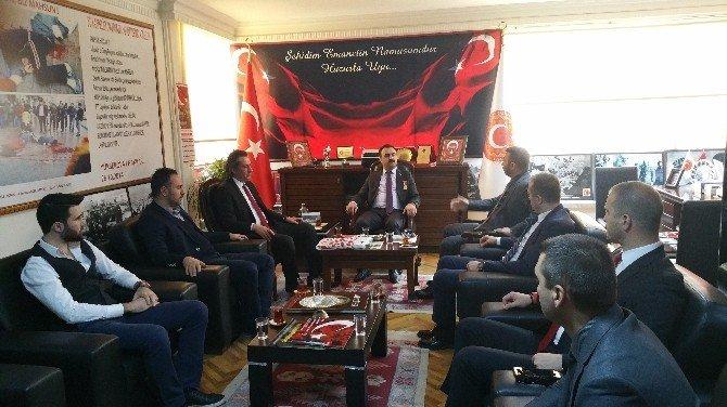 Geskon'dan Türkiye Gaziler Vakfı'na Ziyaret