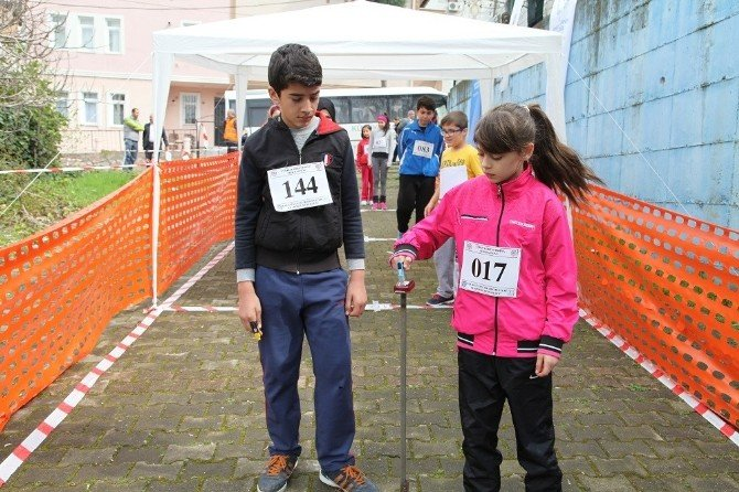 Türkiye Oryantiring Yarışma'sı Başiskele'de Yapıldı
