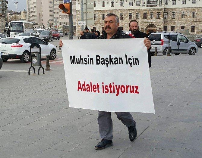 Muhsin Yazıcıoğlu İçin Sivas'tan Ankara'ya Yürüyecek