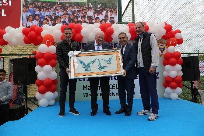 Metin Türel Spor Tesisi Açıldı