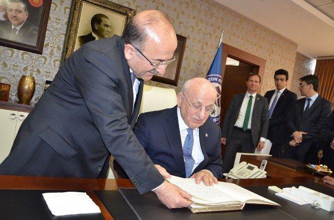 TBMM Başkanı Kahraman, Başkan Gümtrükçüoğlu'nu ziyaret etti