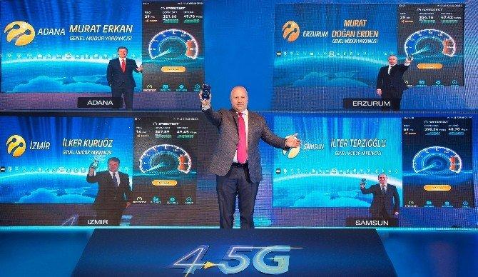 "Terzioğlu: ""Turkcell 4.5g Şebekesi, 81 İlde Hazır"""