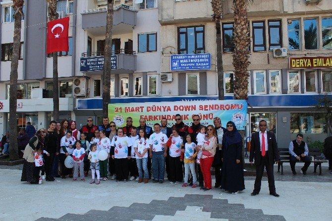Kumluca'da Dünya Down Sendromu Günü Etkinliği Düzenlendi