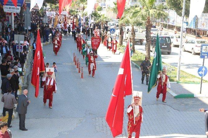 Serik Belediyesi'nden Birlik Beraberlik Yürüyüşü