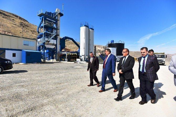 Battalgazi Belediyesi Artık Kendi Asfaltını Üretecek