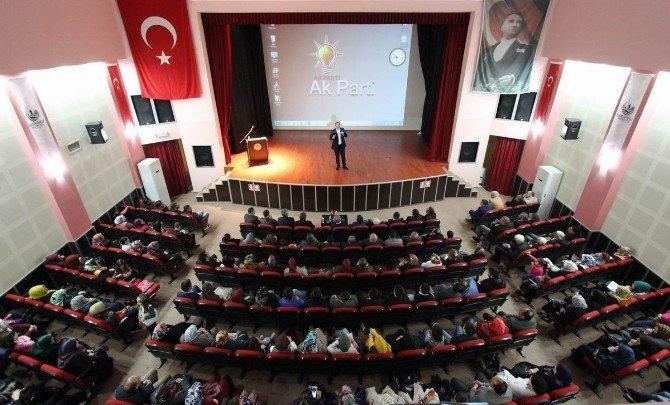 Ozan Erdem Saruhanlı'da Çanakkale'yi Anlattı