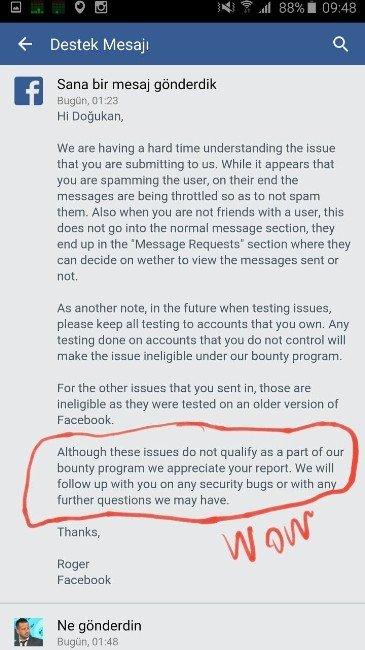 Facebook, Açıklarını Kapatırken Adanalı Doğukan'a Danışacak