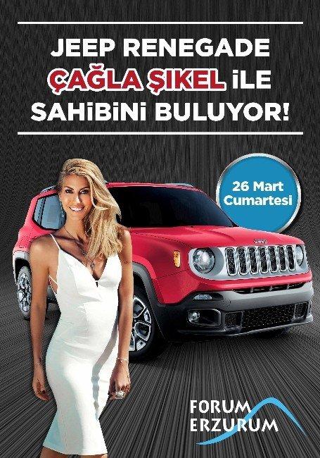 Çağla Şıkel Forum Erzurum'da