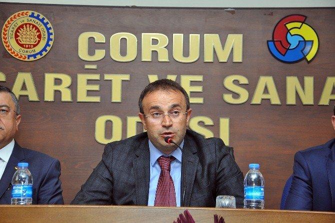 Terör Olaylarına Tepki Gösteren Çorum TSO Meclis Başkanı Erol Karadaş;