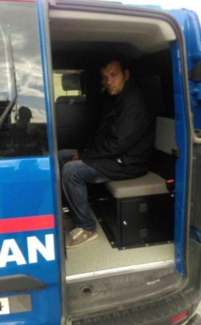 Şehit Cenazesine Katılan Hırsızlık Zanlısı Jandarmadan Kaçamadı