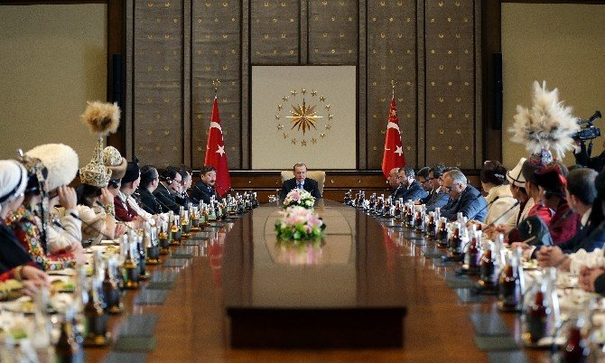 Türksoy Üyesi Ülkelerin Kültür Ve Sanat Elçileri Beştepe'de