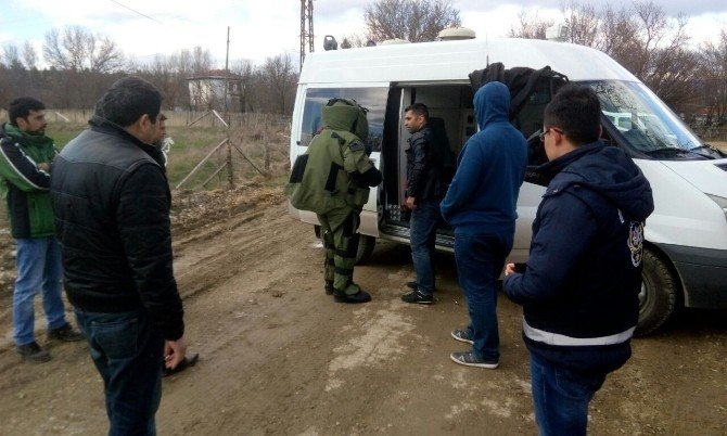 Kastamonu'da Şüpheli Paket Fünyeyle Patlatıldı