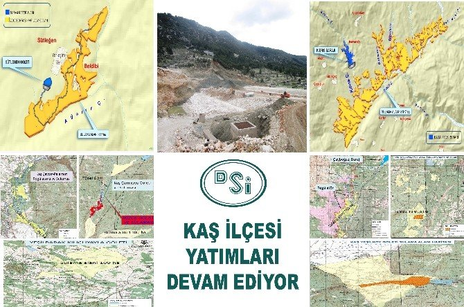 DSİ'den Kaş'a 25 Milyon TL Yatırım