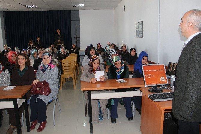 Elazığ'da 'Balık ETİ Ve İnsan Sağlığı Açısından Önemi' Konulu Seminer Verildi