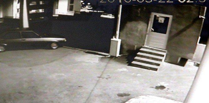 Gaziantep'te Otomobil Hırsızlığı Kamerada