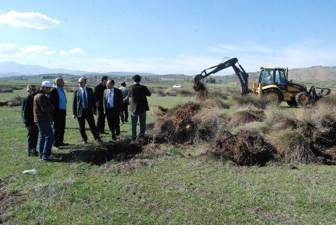 Kahramanmaraş'ta Mera Islahına 3 Milyon Lira Harcandı