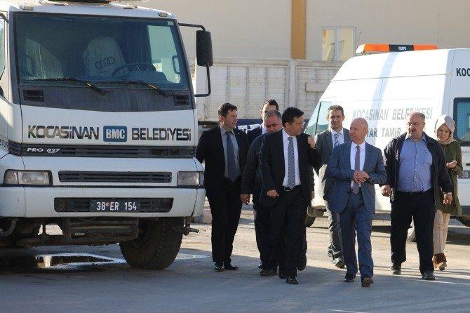 Başkan Çolakbayrakdar'dan Atölyelere Teftiş