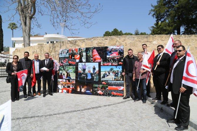 KKTC'de bazı STK'lar Nevruz kutlamalarına katılan Akıncı'yı kınadı