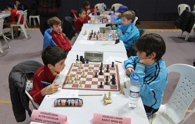 Kağıtspor Satranççılar D Kategorisinde Şampiyon Oldu