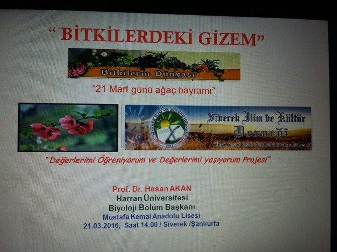 Bitkilerdeki Gizem İsimli Konferans