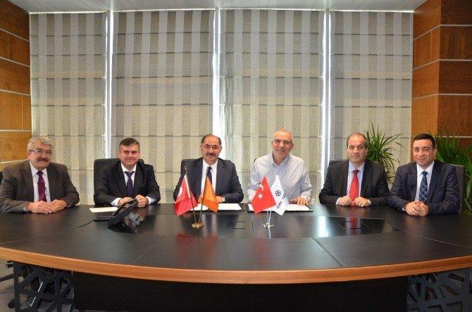 NKÜ İle Dal Teknik Makine Ticaret Ve Sanayi A.ş. Arasında İşbirliği Protokolü