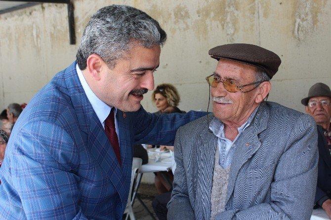 Nazilli'de Yaşlılar Piknik Etkinliğinde Buluştu