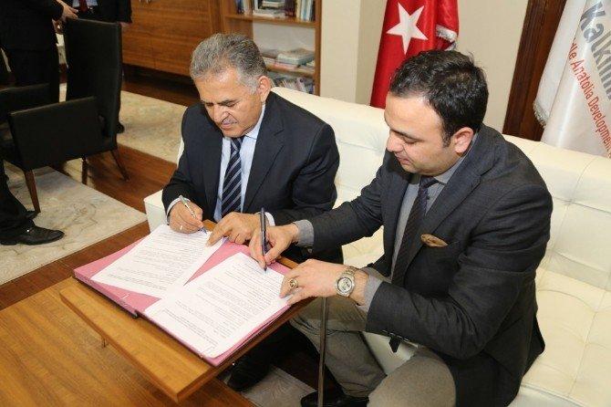 Melikgazi Belediyesi Oran İle Proto0kol İmzaladı