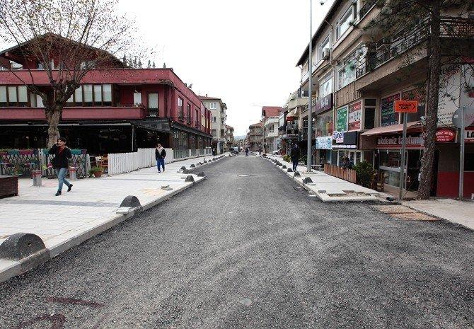Şal Sokak'ta İlk Etap Çalışmaları Tamamlanıyor