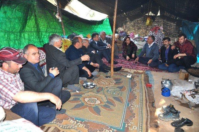 Başkan Turgut Yörüklerle Bir Araya Geldi