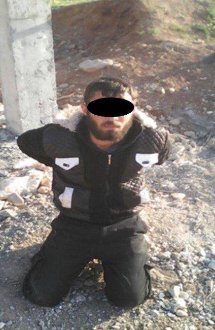 Suriye Sınırında Daeş'li Canlı Bomba Yakalandı