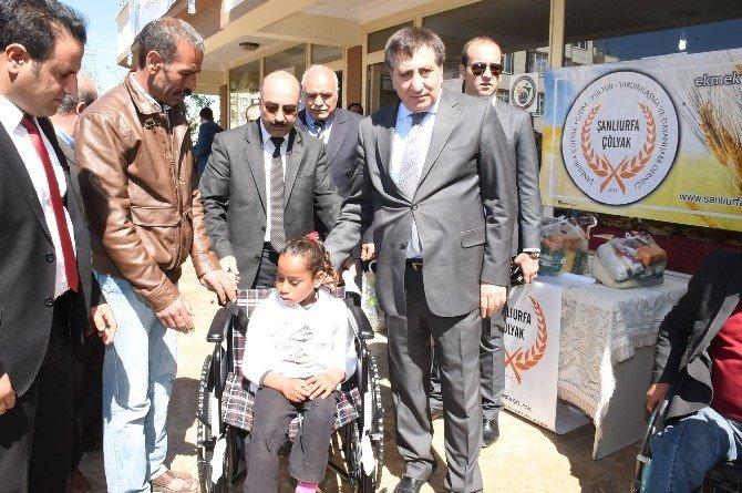 Suriyeli Çölyak Hastalarına Malzeme Dağıtıldı