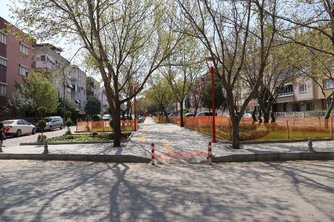 Yenilenen Gardalya Sokak Açılışa Hazırlanıyor