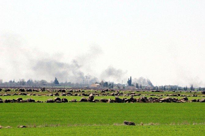 Koalisyon Güçlerine Ait Uçaklar IŞİD'i Vurdu