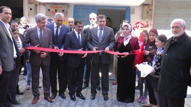 Şanlıurfa'da Suriyeliler İçin Yeni Bir Okul Açıldı