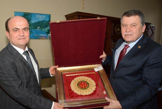 Yargıtay Ve Danıştay Başkanı Cumhuriyet Başsavcısı Çiçekli'yi Makamında Ziyaret Etti