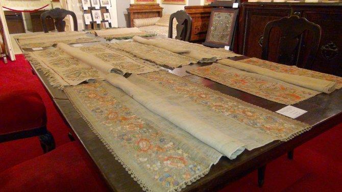 Türkiye'de görev yapan ilk Romen büyükelçisinin kumaş koleksiyonu satıldı