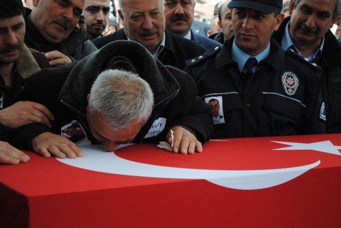 Şehit Komiser Yardımcısı Merzifon'da Defnedildi