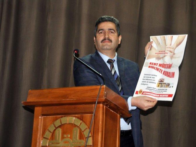 Afyon Belediyesi din görevlilerine Kent müzesini tanıttı