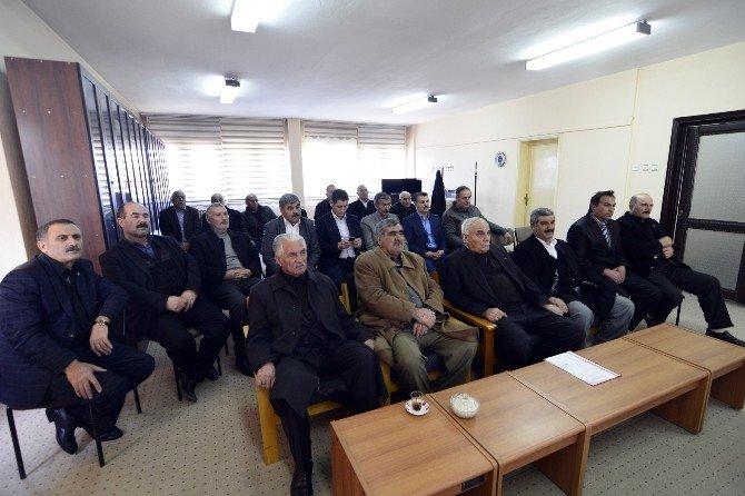 Ağrı Yazıcı Sulaması'nın 2016 Sulama Sezonu Açılış Toplantısı