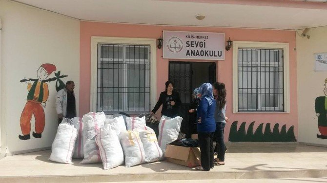 AK Parti'den Sevgi Anaokulu Kifayet Yardımı