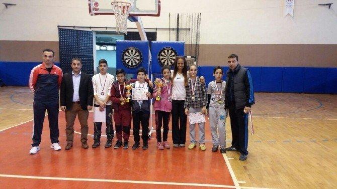 Aydın'da Okullararası Dart İl Birincileri Ödüllendirildi